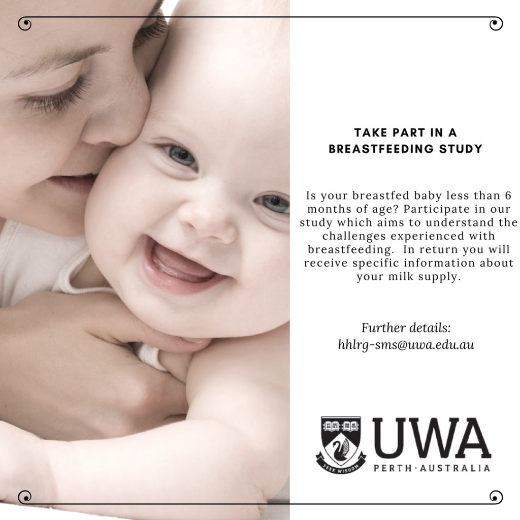 2 - TAKE PART IN A BREASTFEEDING STUDY
